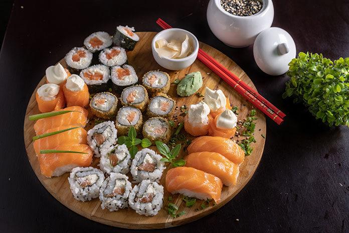 Kilka słów o sushi
